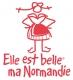 Logo Elle Est Belle Ma Normandie