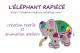 Logo L'éléphant Rapiécé