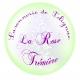Logo Savonnerie De Polignac La Rose Trémière