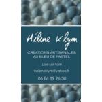 Logo Hélène Klym - Créations Au Bleu De Pastel