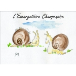 Logo L'escargotière Champenoise