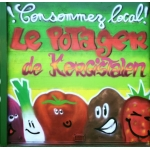 Logo Le Potager De Kergistalen