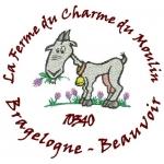 Logo La Ferme Du Charme Du Moulin