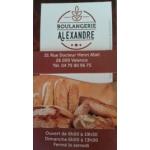 Logo Boulangerie Alexandre