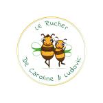 Logo Le Rucher De Caroline Et Ludovic