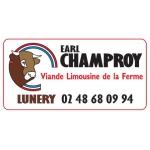 Logo Ferme De Champroy, Viande Limousine