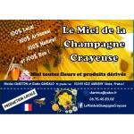 Logo Le Miel De La Champagne Crayeuse Et Ses Produits Dérivés
