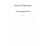 Logo Grain D'épeautre, Pains Biologiques Et Authentiques