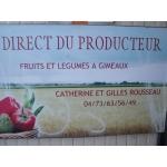 Logo Rousseau Fruits Et Legumes
