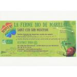 Logo La Ferme Bio De Marillat