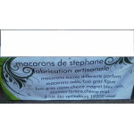 Logo Macarons  De Stéphane